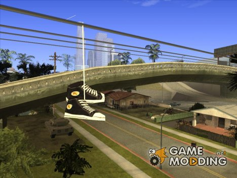 Кеды на проводах для GTA San Andreas