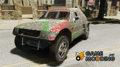 Mitsubishi Pajero Proto Dakar EK86 Винил 2 for GTA 4