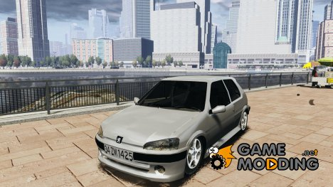 Peugeot 106 Quicksilver для GTA 4