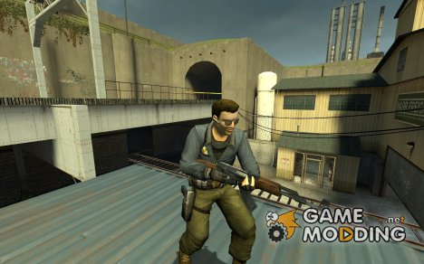 Renegade CTU Agent для Counter-Strike Source