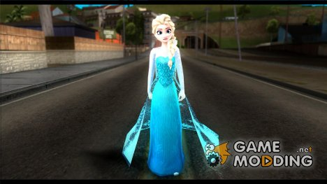 Frozen Elsa for GTA San Andreas
