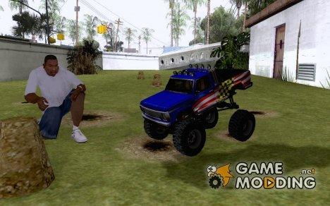 Монстер место RC машинки for GTA San Andreas