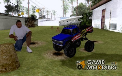Монстер место RC машинки для GTA San Andreas