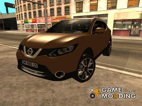 Nissan Qashqai 2016 for GTA San Andreas