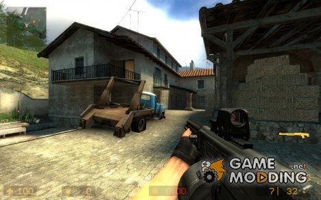 USAS 12 Reborn V1.0 for Counter-Strike Source