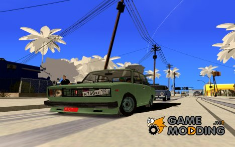 ВАЗ 2105 Winter drift для GTA San Andreas