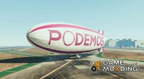 Podemos blimp 1.0 for GTA 5