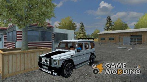Mercedes-Benz G65 AMG v 2.0 for Farming Simulator 2013