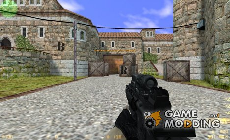 Heckler & Koch 416 tactical.Cs 1.6 version для Counter-Strike 1.6