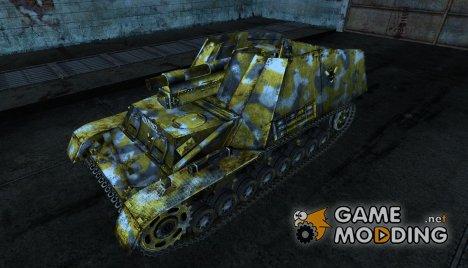 Шкурка для Hummel for World of Tanks
