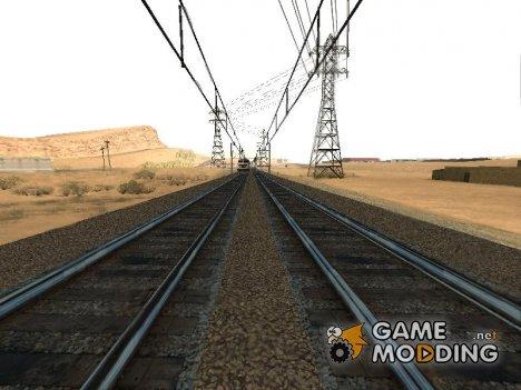 Русская ЖД модификация v1.0 for GTA San Andreas