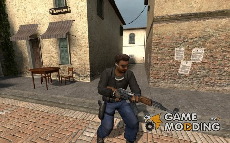Black And Denim Leet Reskin for Counter-Strike Source