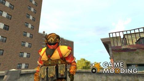 Солдат LMG КНР для GTA 4