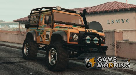 Land Rover Defender 90 v1.1 для GTA 5