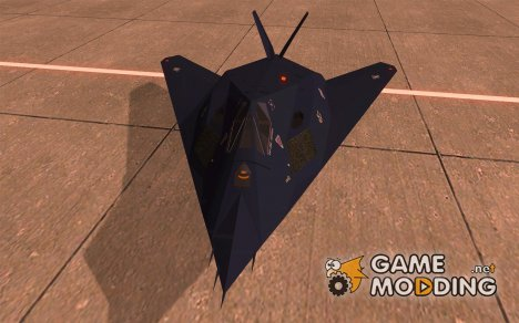 Lockheed F-117A Nighthawk для GTA San Andreas