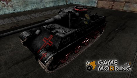 Шкурка для Panther II Hellsing для World of Tanks