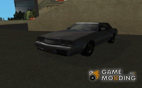 Sabre из GTA IV для GTA San Andreas