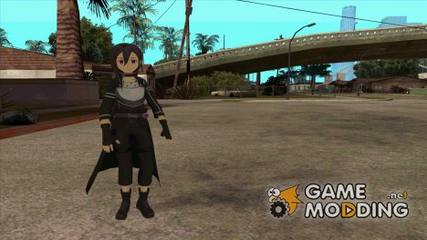 Kirito GGO for GTA San Andreas