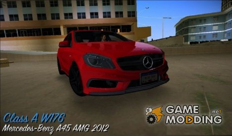 Mercedes-Benz A45 AMG 2012 for GTA Vice City