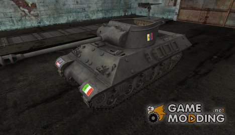 Шкурка для M36 Slugger Italian for World of Tanks