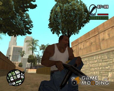 Пак удобного оружия для GTA San Andreas