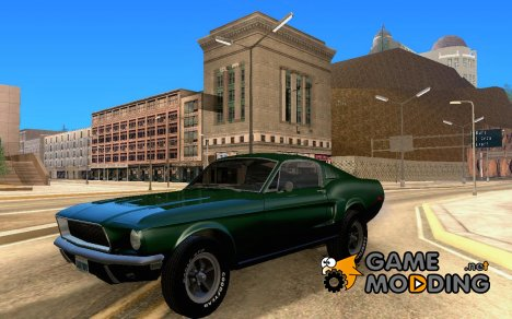 Ford Mustang Bullitt 1968 v.2 для GTA San Andreas
