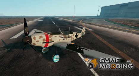 Messerschmitt BF-109 E3 for GTA 5
