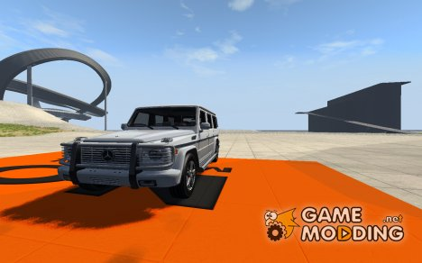 Mercedes-Benz G500 for BeamNG.Drive