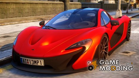 McLaren P1 2013 для GTA 4