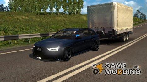Audi A4 Avant (B8) для Euro Truck Simulator 2
