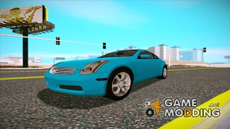 Infiniti G35 Coupe (V35) 2003 for GTA San Andreas