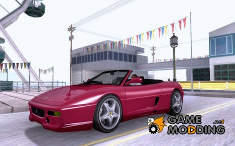 Ferrari F355 Spyder for GTA San Andreas