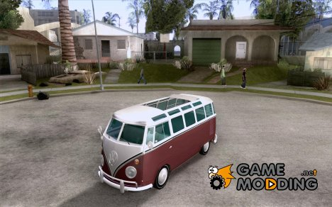 Volkswagen Transporter T1 SAMBAQ CAMPERVAN for GTA San Andreas