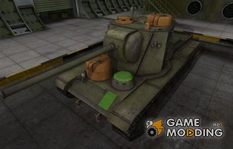 Зона пробития КВ-5 для World of Tanks