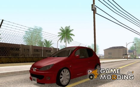 Peugeot 206 GTI 4x4 for GTA San Andreas