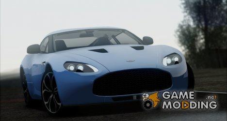 Aston Martin V12 Zagato 2012 IVF for GTA San Andreas