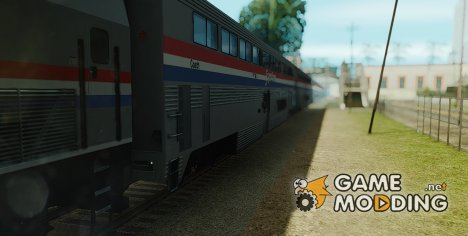 Пассажирский вагон Amtrak Superliner Phase III for GTA San Andreas