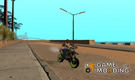 Kawasaki KX 125 for GTA San Andreas
