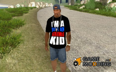 "Футболка ""I'M A RUSSIAN GRIME KID"" для GTA San Andreas"