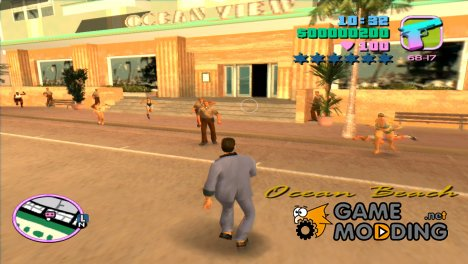 Zombie Apocalypse 1.0 for GTA Vice City