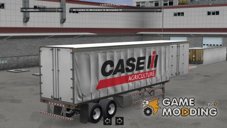 Case IH Curtain Trailer для Euro Truck Simulator 2