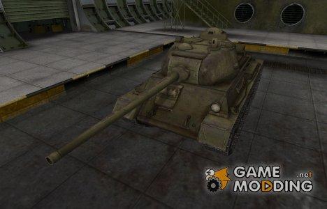 Шкурка для Т-43 в расскраске 4БО для World of Tanks