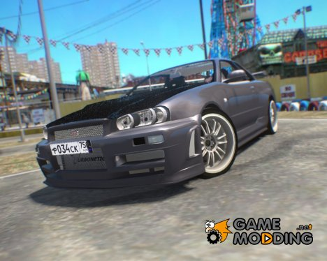 Nissan Skyline GT-R R34 Beta for GTA 4