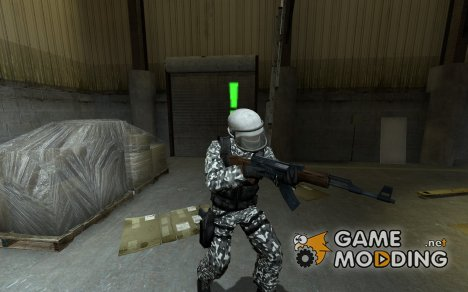 Snow Camo Gign V.2 для Counter-Strike Source
