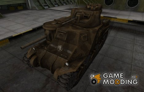 Скин в стиле C&C GDI для M3 Lee для World of Tanks