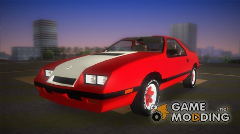 Dodge Daytona Turbo CZ 1986 для GTA Vice City