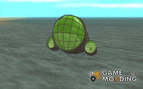 Подводная лодка для GTA San Andreas