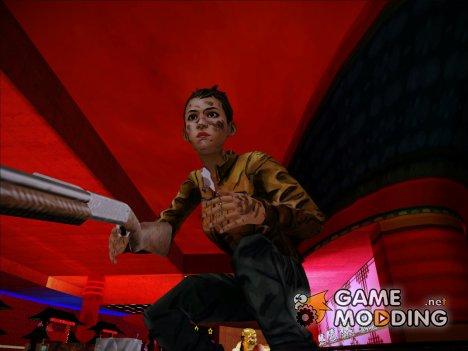 Джейн(Ходячие мертвецы: 2-ой сезон) for GTA San Andreas