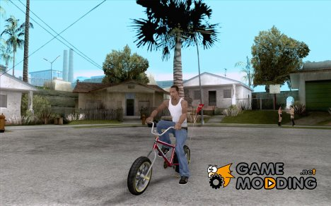 BMX Long 2 New Wheel for GTA San Andreas