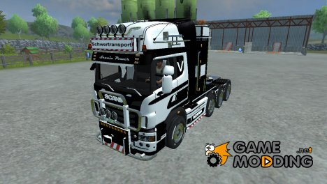 Scania R 560 heavy duty v 2.0 for Farming Simulator 2013